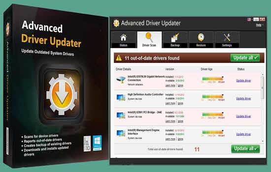 Advanced Driver Updater 4.5 serial key