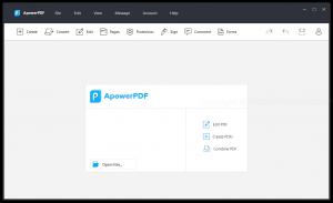 Apowerpdf PDF Crack free download