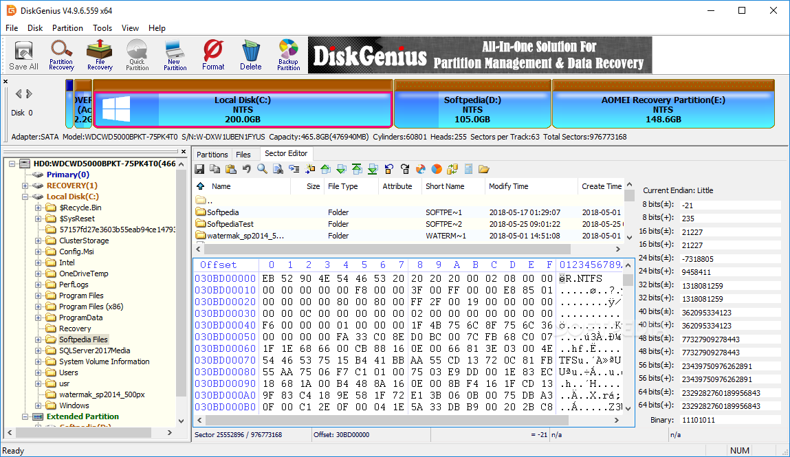 DiskGenius Free Download with crack [Latest] version 2020