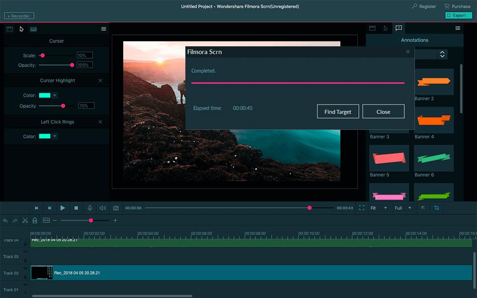 Filmora Scrn Download Free 2020 Latest Crack Version 2.0.1