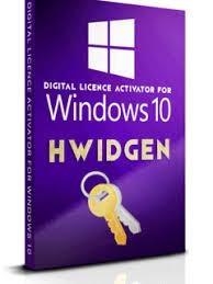 Download Hwidgen {Latest} Version Windows 10 Digital License Activator