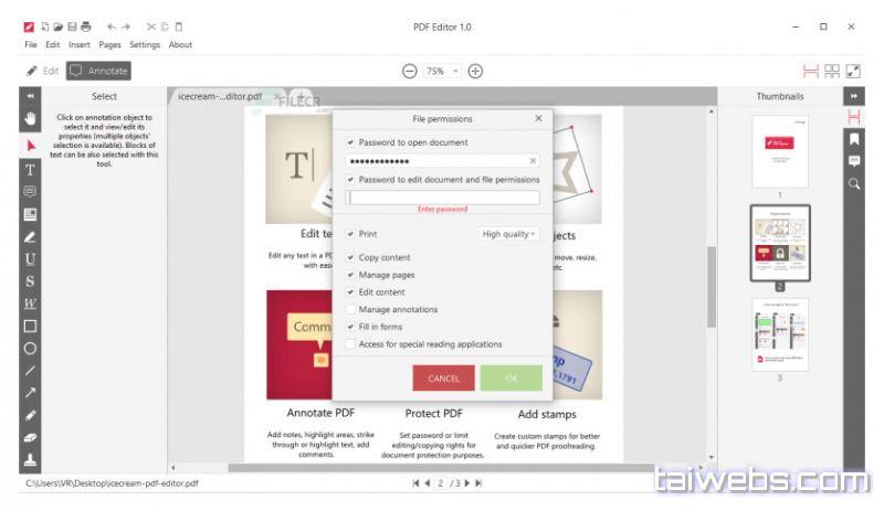 IceCream PDF Editor PRO Crack + Serial Key Free Download 2020