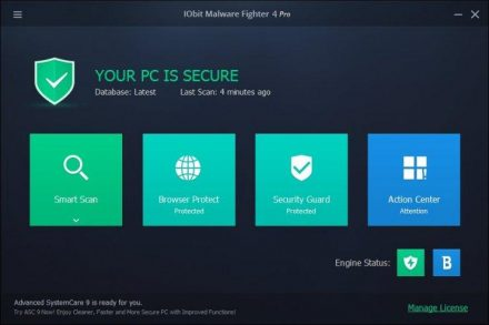 IObit Malware Fighter Pro Crack 8.2.0 + Serial Key Download 2020