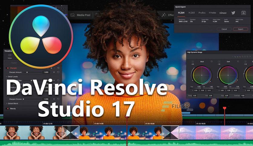 DaVinci Resolve Studio 17.0 Crack With Activation Key Free Download [2021]