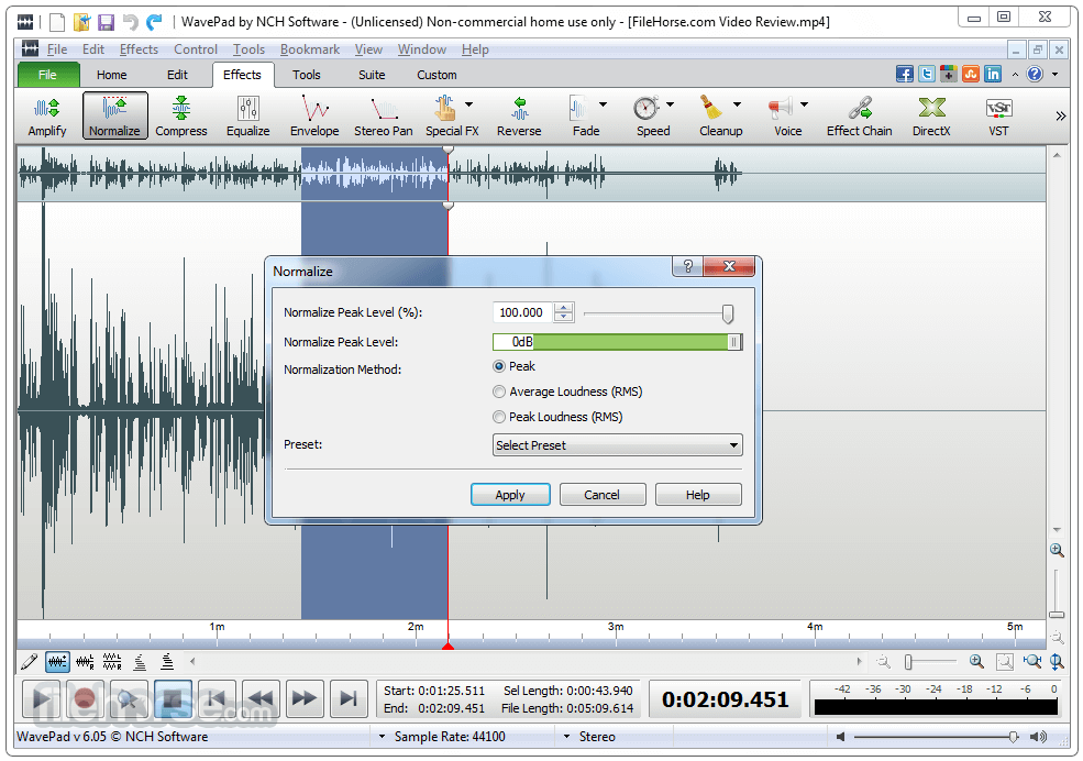 WavePad Sound Editor Crack + Registration Key Download 2021