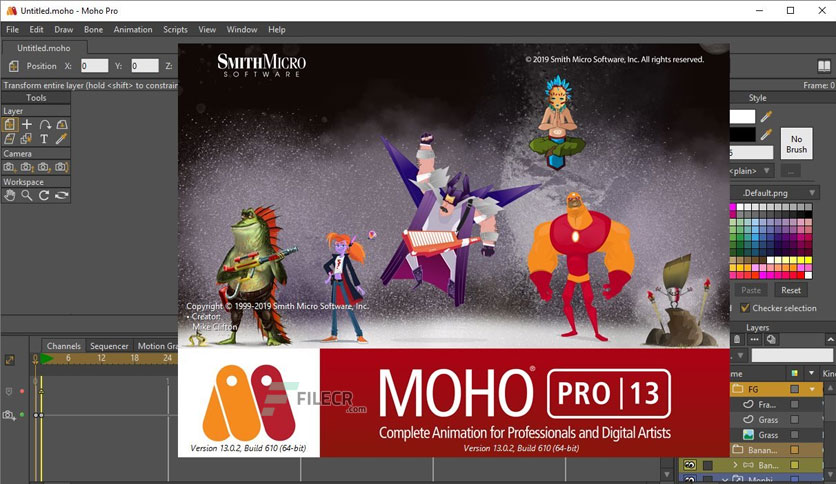 Smith Micro Moho Pro 12.4 Crack Win/Mac Full Version Download 2021